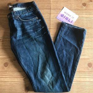 J Brand Jeans Domino Boyfriend Denim